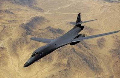 B1 bomber over Afghanistan. (Photo: U.S. Air Force.)